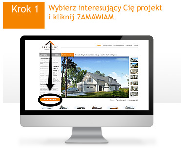 projekty domów gotowych - proces zamawiania