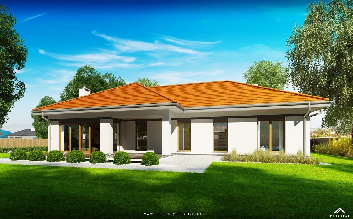 Projekt domu Wilson IV - wizualizacja zewnętrzna