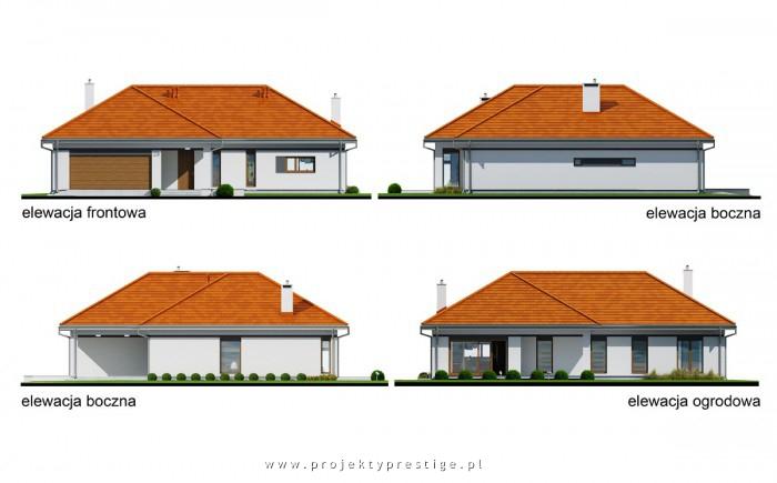 Projekt domu Wilson IV elewacja