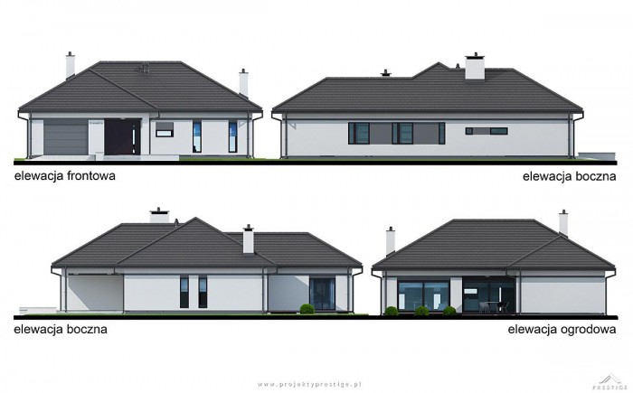 Projekt domu Wilson II elewacja