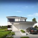 Projekt domu Hubert III - wizualizacja zewnętrzna
