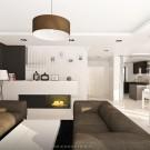 Projekt domu Hubert III - wizualizacja wewnętrzna