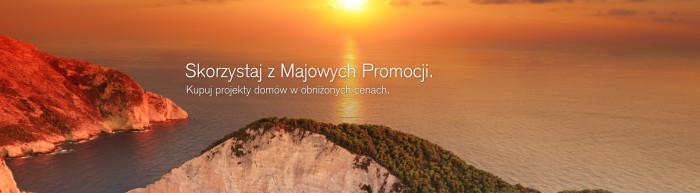 projekty domów - promocje maj