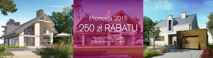 promocja projekt domu prestige 2015