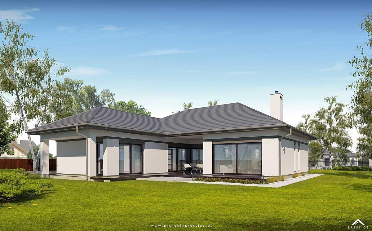 Projekt Domu Wilson I To Projekt Domu Parterowego