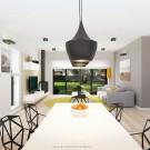 Projekt domu Wilson II - wizualizacja wewnętrzna