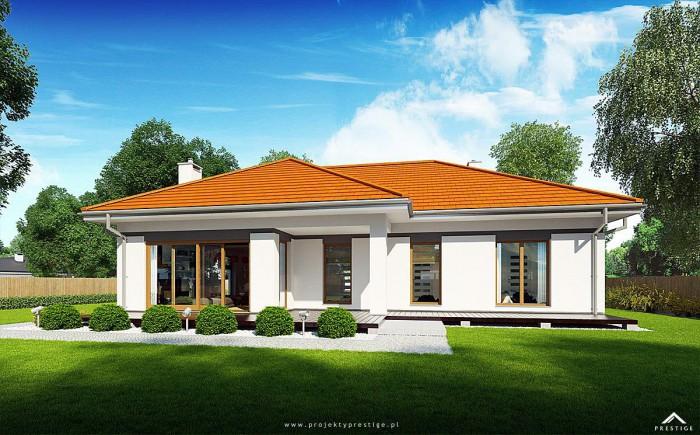 Projekt domu Wilson III - wizualizacja zewnętrzna