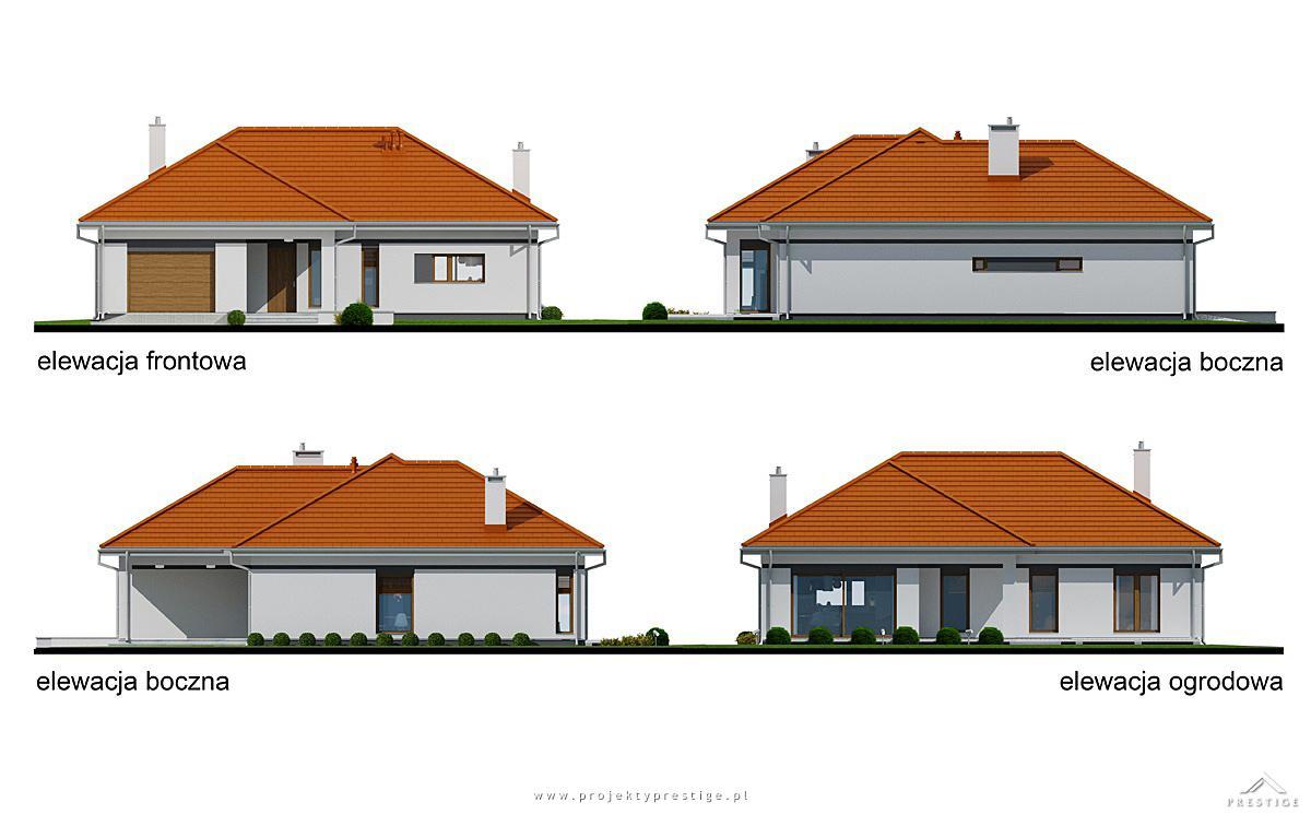 Projekt domu Wilson III elewacja