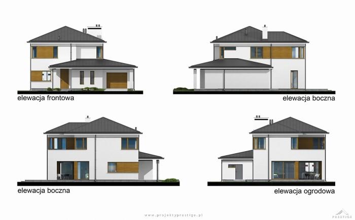 Projekt domu Hubert II elewacja