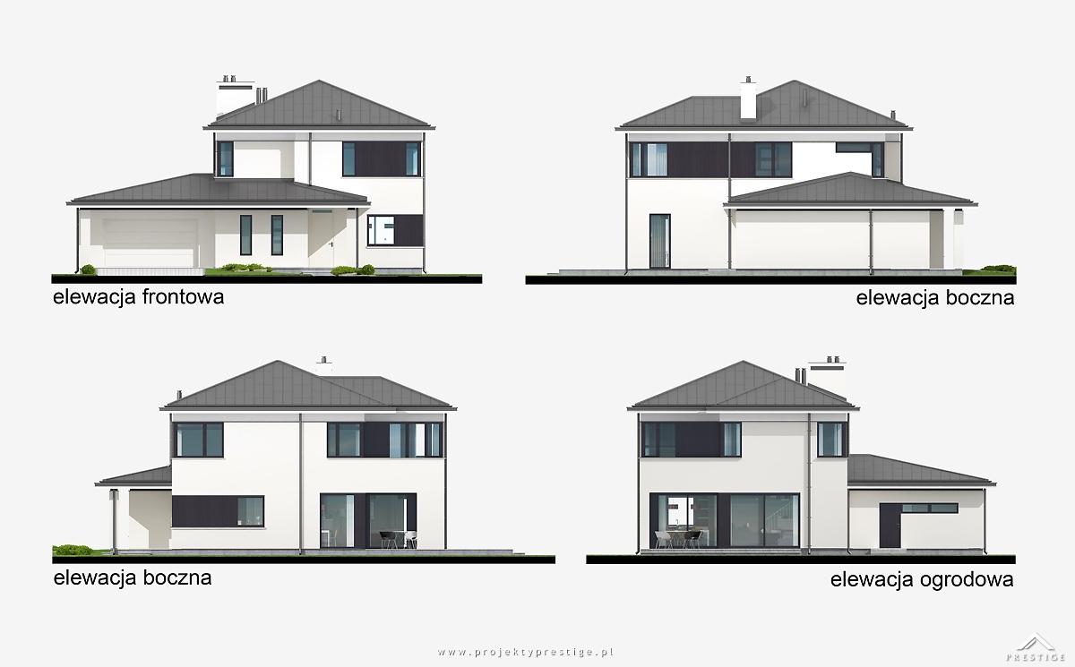 Projekt domu Hubert I elewacja