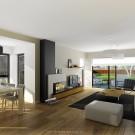 Projekt domu Przemek - wizualizacja wewnętrzna