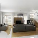 Projekt domu Wiliam I - wizualizacja wewnętrzna
