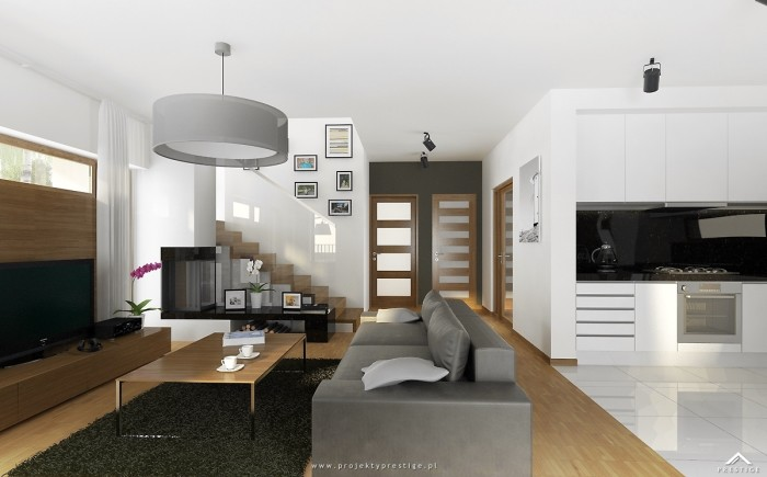 Projekt domu Wiliam III - wizualizacja wewnętrzna