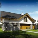 Projekt domu Wiliam III - wizualizacja zewnętrzna