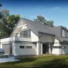Projekt domu Kornelia - wizualizacja zewnętrzna