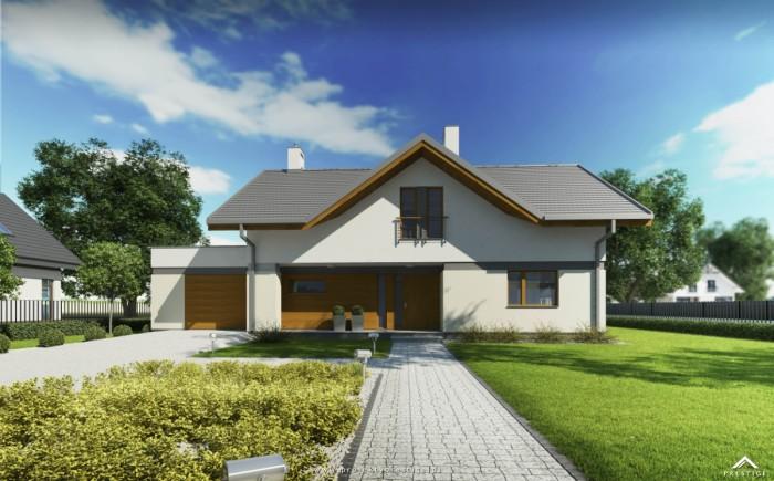 projekt domu wiliam VI - rzut