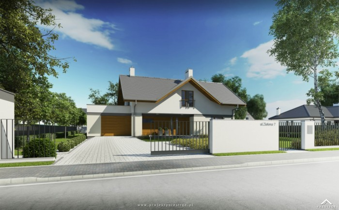 projekt domu wiliam VI - outdor