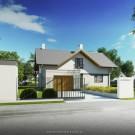 Projekt domu Wiliam IV - wizualizacja zewnętrzna