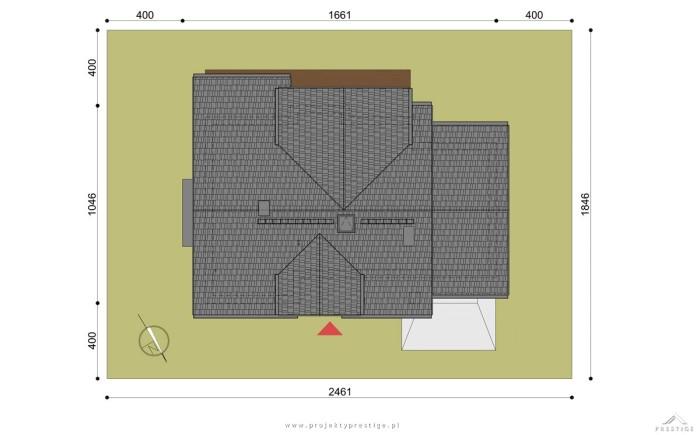 projekt domu henryk 1 - poddasze