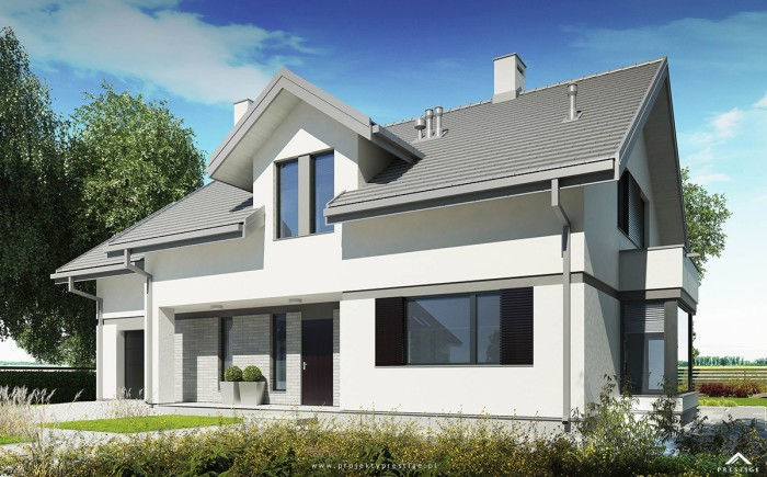 projekt domu henryk I