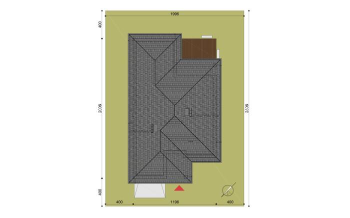 pzt-projekt domu hary - rzut