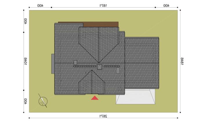 projekt domu henryk 2 - pzt