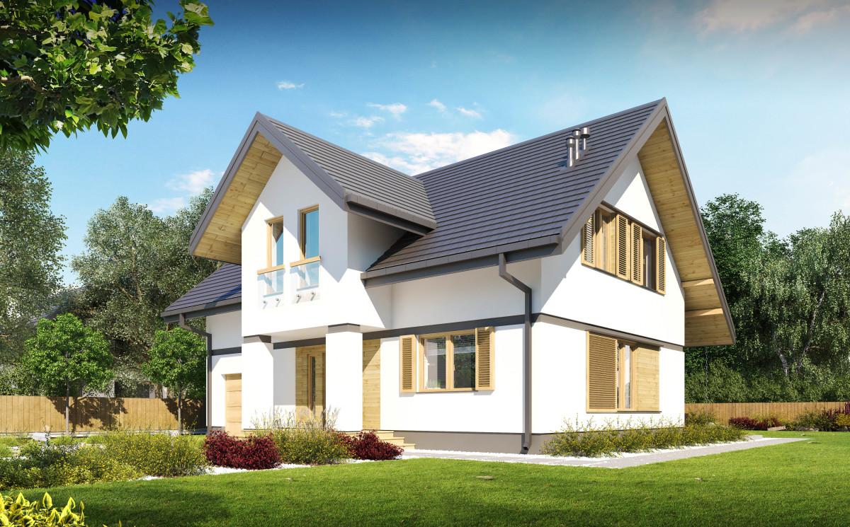 projekt domu Fabian I